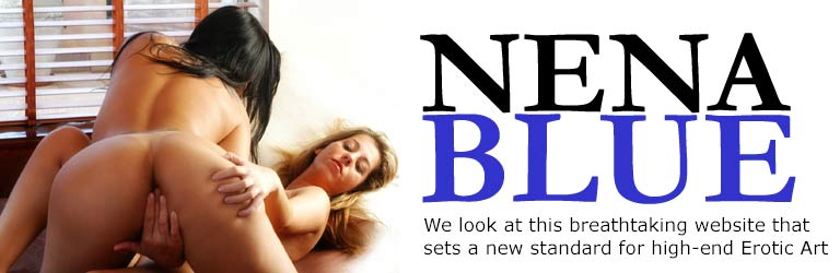 September 2007 Issue: Nena Blue website